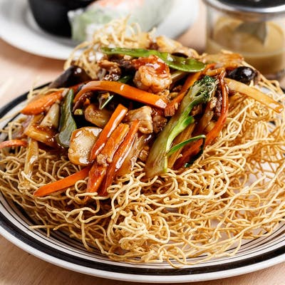 Special Cripsy Egg Noodle Combo