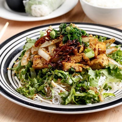 Stir-Fried Tofu Vermicelli & Salad