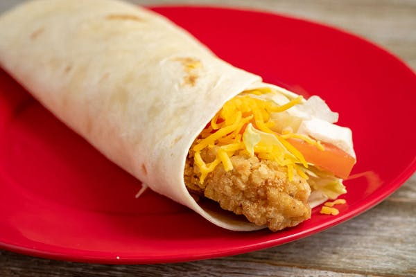 Fried Chicken Wrap