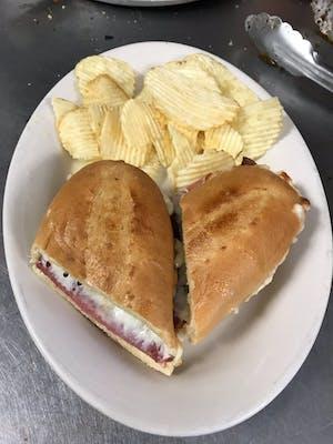 Ham, Salami & Cheese Hoagie