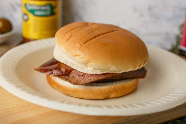 Smoked Sausage Sandwich
