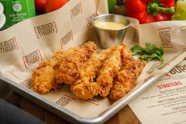 Fried Buttermilk Chicken Strips
