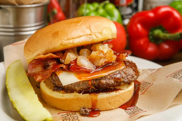 Ultimate Sriracha Burger