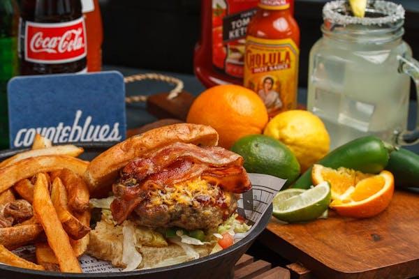 Angus Border Burger