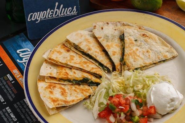 Chicken & Spinach Quesadilla