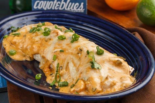 Shrimp & Crawfish Burrito
