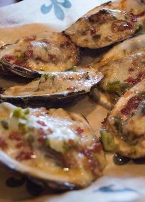 Monterey Jack Oysters 1/2 DOZ