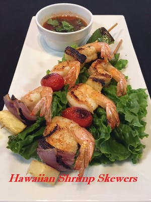 Hawaiian Shrimp Skewers