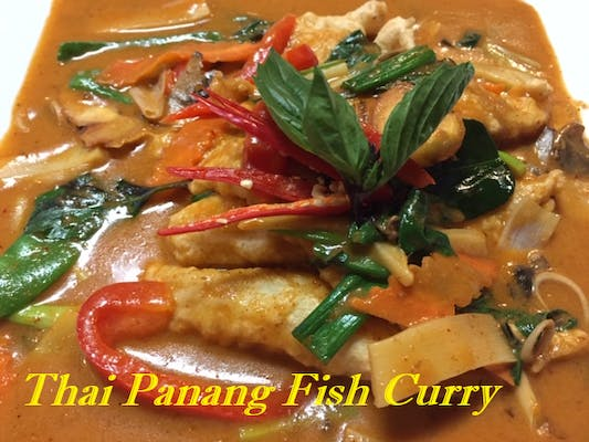 Thai Panang Fish Curry