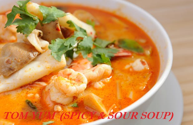 Tom Yum (Spicy & Sour Soup)
