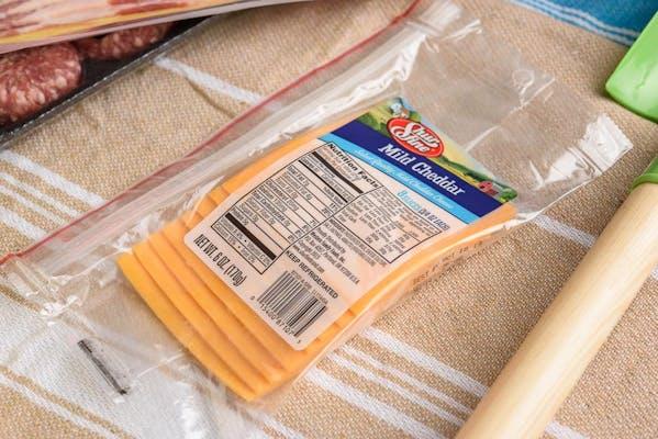 Shurfine Sliced Cheddar Cheese