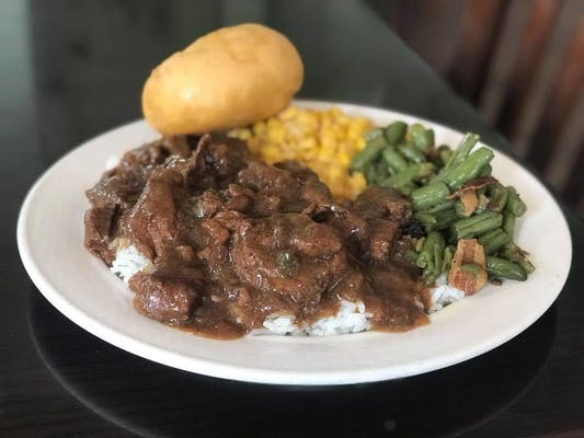 BEEF TIPS RICE & GRAVY