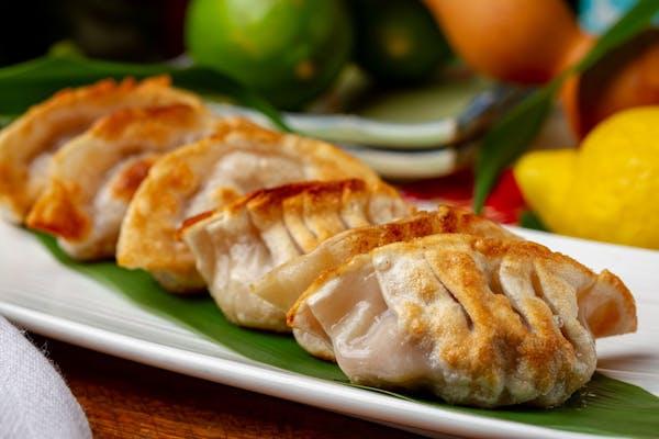 Steamed or Fried Pork Dumplings