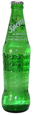 Mexican Sprite - Glass Bottle
