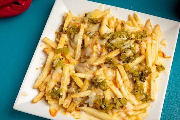 Green Chili Cheese Fries