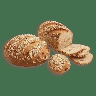 Honey Oat Bran  Bread with Cranberries