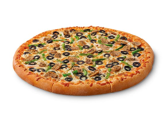 ExtraMostBestest Veggie Pizza