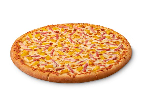 ExtraMostBestest Hula Hawaiian Pizza