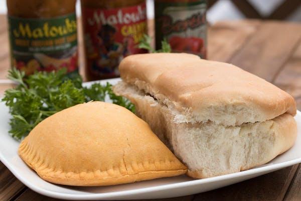 Coco Bread & Jamaican Beef Patties