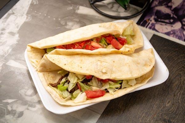 (2) Flour Tacos