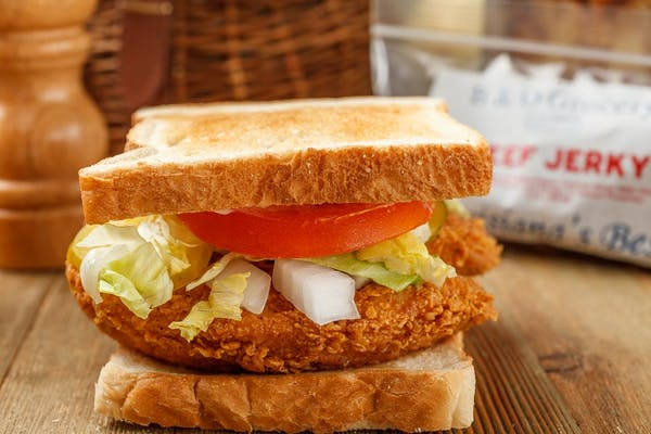 Fried Chicken Strip Sandwich