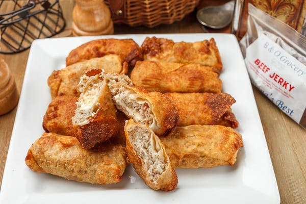 Cajun Egg Roll Box