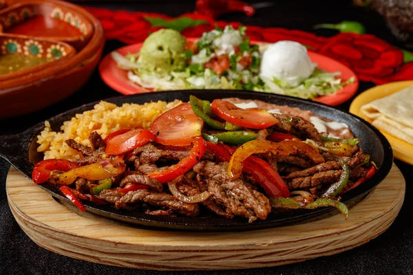 Beef Fajitas with Flour Tortilla