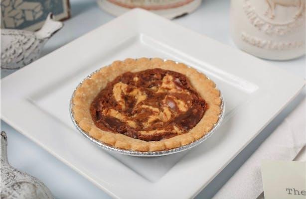 Peanut Butter Fudge Mini Pie