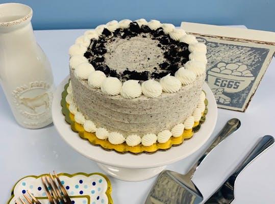 "6"" Round Oreo Cake"