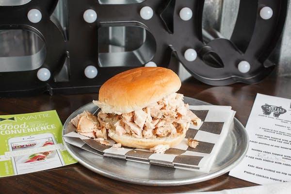 Pulled Chicken Sandwich Plate