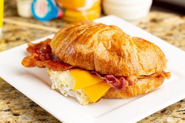 7. Bacon, Egg & Cheese Croissant