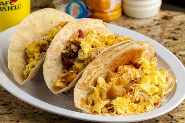 17. Sausage, Egg & Cheese Taco