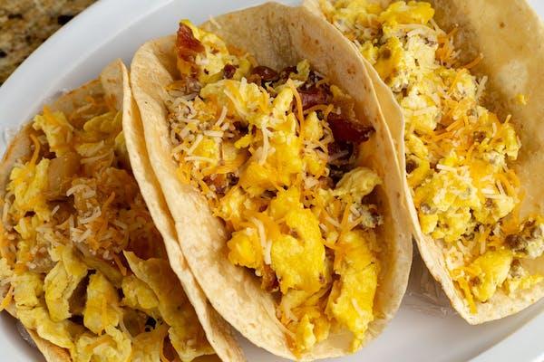 18. Bacon, Egg & Cheese Taco