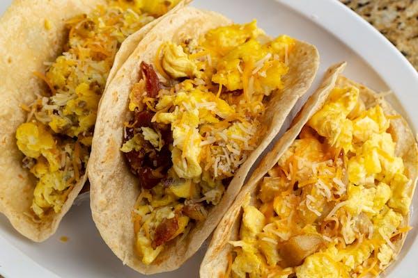 19. Egg & Chorizo Taco