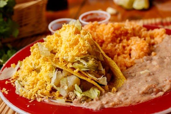 Folded Taco Plate