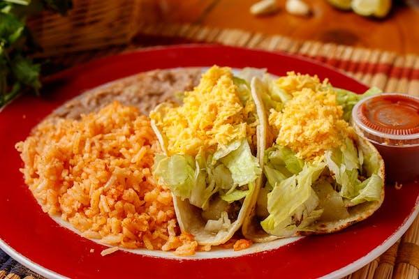 Soft Taco Plate