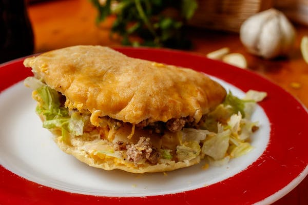 Stuffed Sopapilla