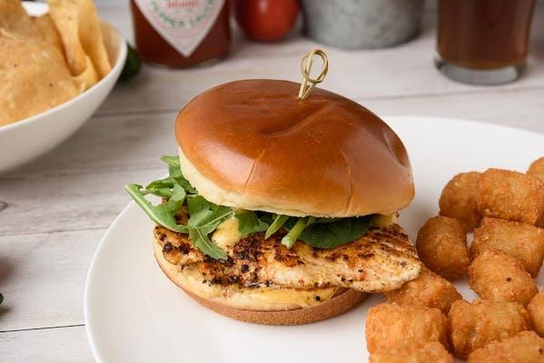 Triggerfish Sandwich