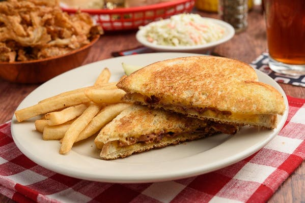 Grilled Bacon & Cheese Sandwich
