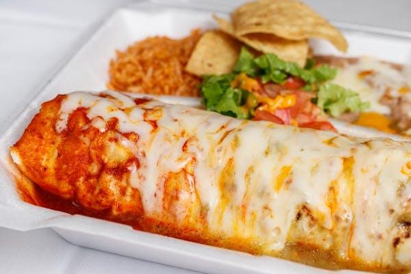 Banado Burrito Plate
