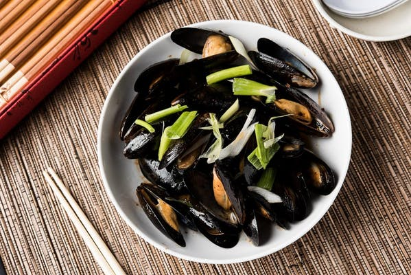 Mussels with Black Bean Sauce