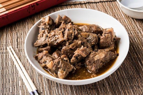 Pork Rib with Black Bean Sauce