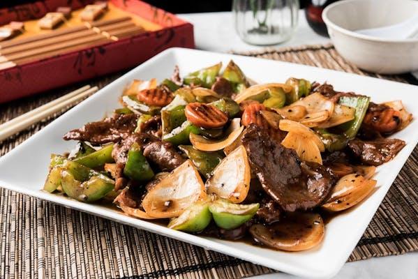 Pepper Steak Plate