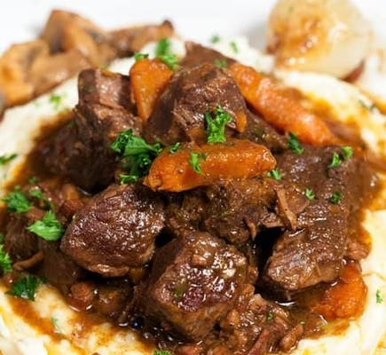 Traditional Beef Bourguignon