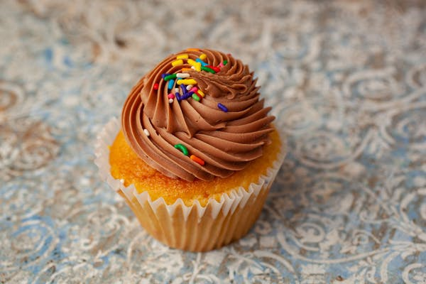 Chocolate Birthday Cake Cupcake
