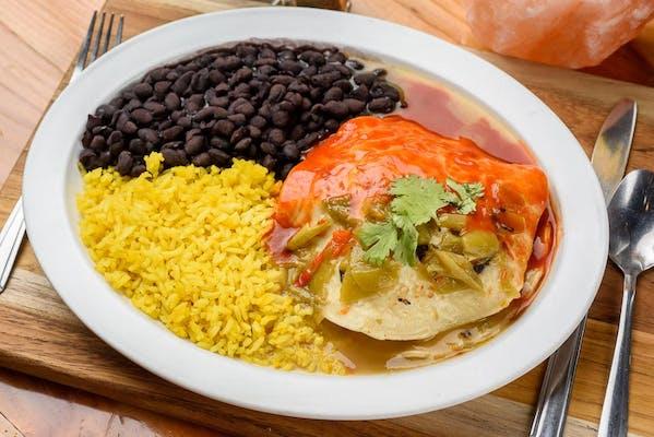 New Mexican Enchiladas