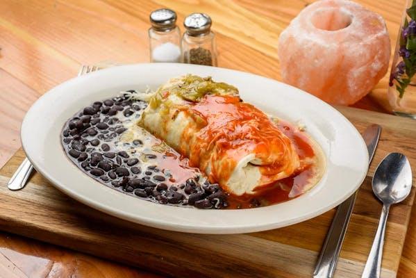 Santa Fe Pork Burrito