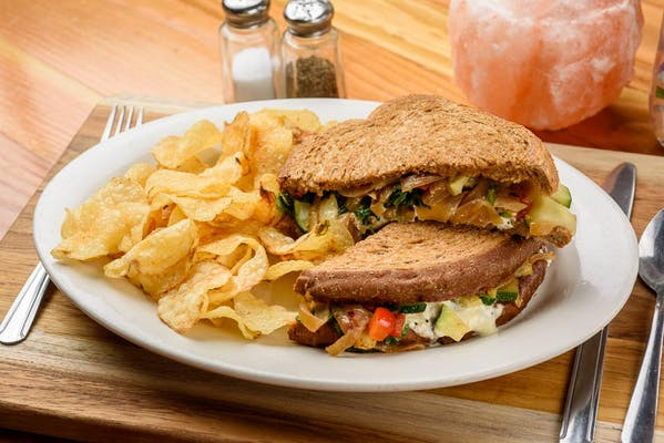 Kansas Grilled Veg Sandwich