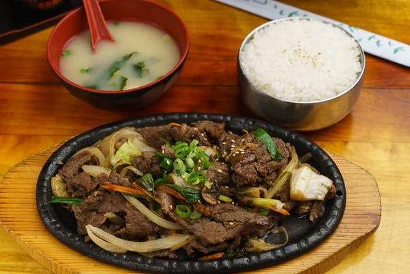 Bulgogi with Rice (Beef)