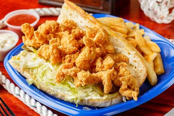 Shrimp Po-Boy & Fries